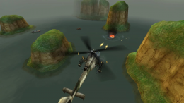 GUNSHIP BATTLE - игра