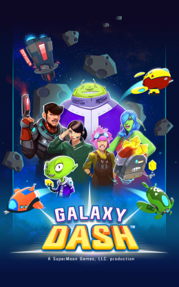 Galaxy Dash: Race to Outer Run - заставка