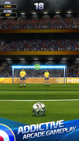 Flick Soccer 15 - игра