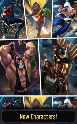 Batman & The Flash: Hero Run - враги