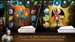 Heroes of Atlan - навыки