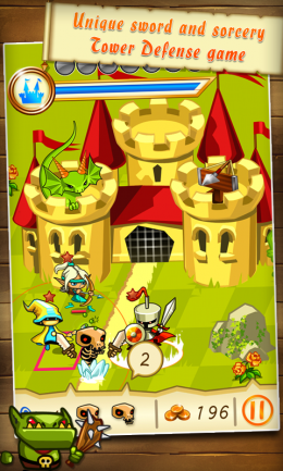Fantasy Kingdom Defense HD - замок