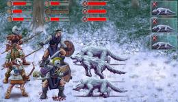TOI:Fallen Knight - бой