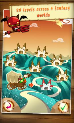 Fantasy Kingdom Defense HD - уровни