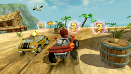 Beach Buggy Racing - игра