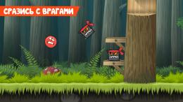 Red Ball 4 - враги