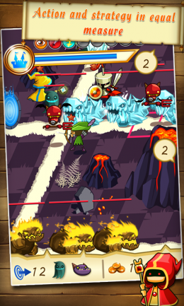 Fantasy Kingdom Defense HD - сражение