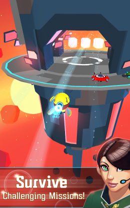 Galaxy Dash: Race to Outer Run - выживай