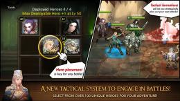 Heroes of Atlan - бой