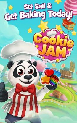 Cookie Jam - заставка