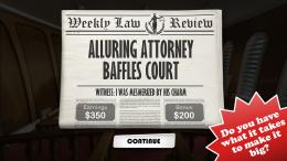 Devil's Attorney - газета