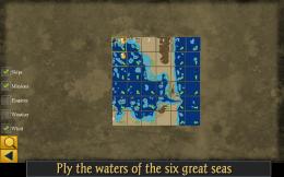 Age of Pirates RPG Elite - карта