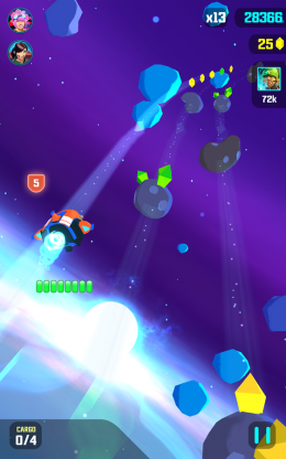 Galaxy Dash: Race to Outer Run - игра