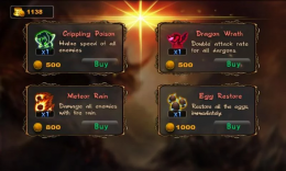 Lair Defense: Dungeon - особое
