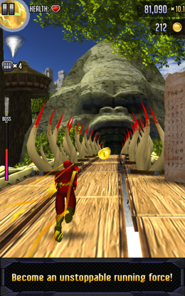 Batman & The Flash: Hero Run - пещера