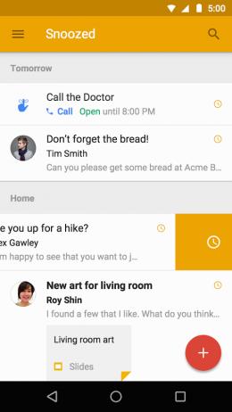 Диалог - Inbox от Gmail для Android