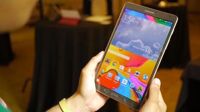 Samsung Galaxy Tab S 8.4 – самый выносливый планшет - интересные новости