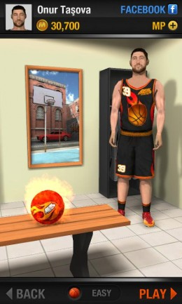 Раздевалка - Real Basketball для Android