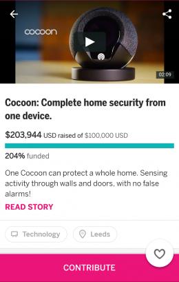 Бюджет - Indiegogo для Android