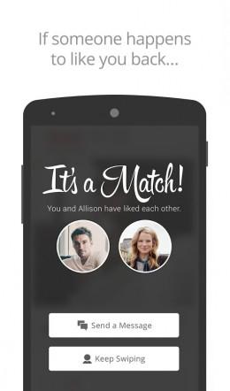 Совпадения - Tinder для Android