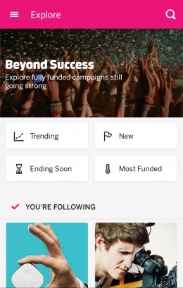 Стартапы - Indiegogo для Android