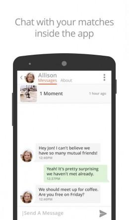Чат - Tinder для Android