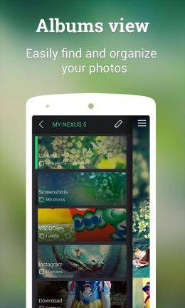 Альбомы - Piktures для Android