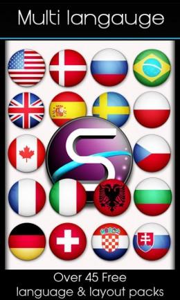 Языки - SlideIT для Android