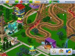 Американские горки- RollerCoaster Tycoon для Android