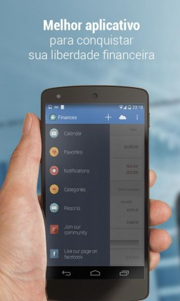 Интерфейс - Personal Finances для Android