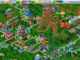 Атракционы- RollerCoaster Tycoon для Android