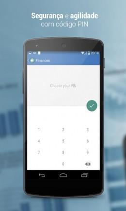 Ввод - Personal Finances для Android