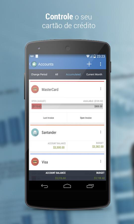 Счета - Personal Finances для Android