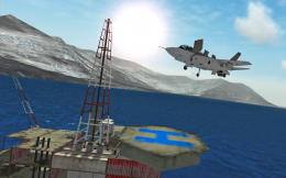 Посадка - F18 Carrier Landing II для Android