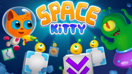 Заставка - Space Kitty Puzzle для Android