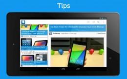 Интерфейс - Drippler для Android
