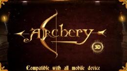 Меню - ARCHERY 3D для Android