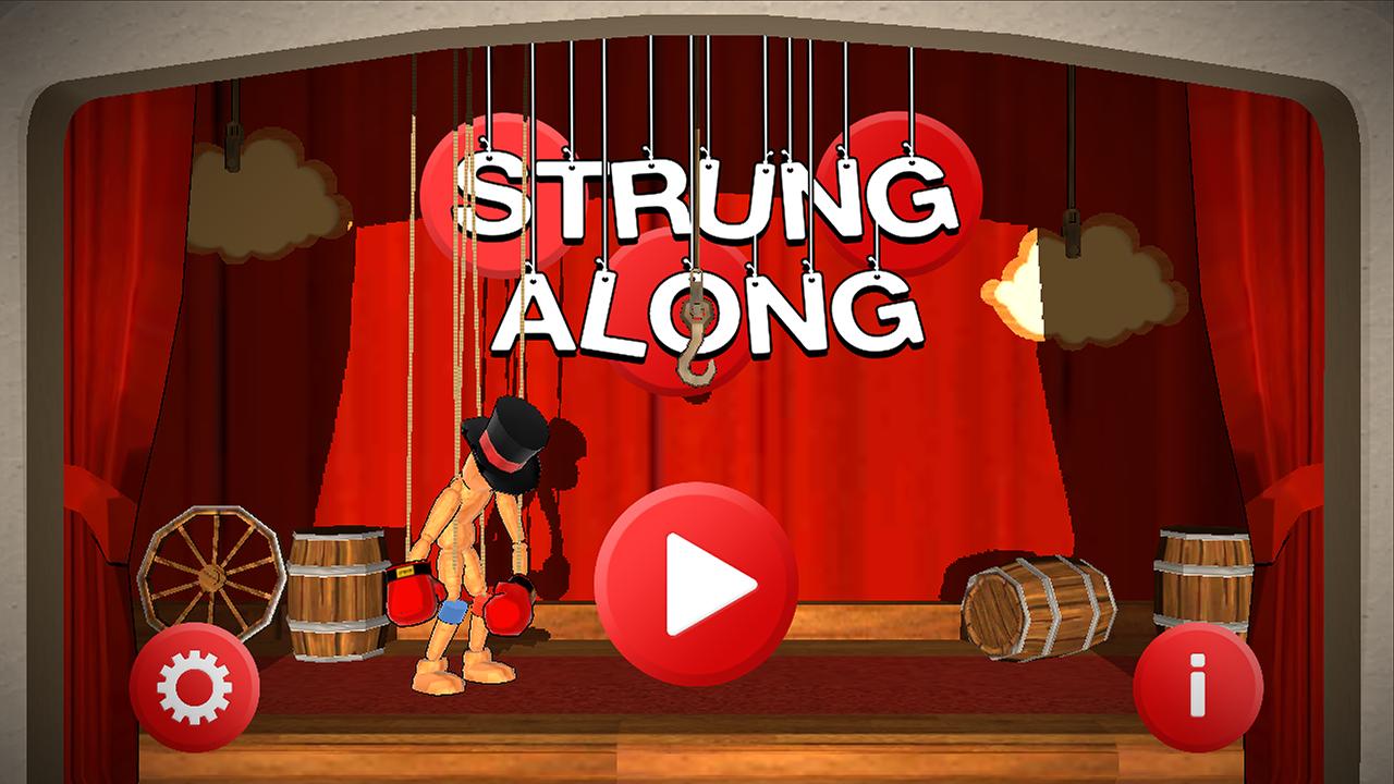 Меню - Strung Along для Android