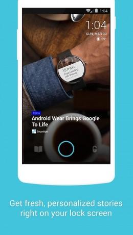 Итерфейс - Locket Lock Screen для Android