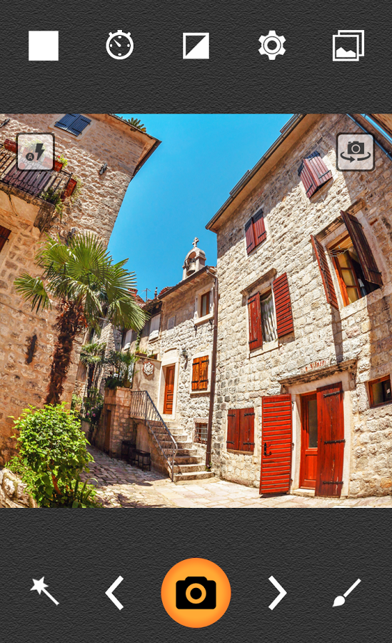 Камера - Fisheye Pro для Android