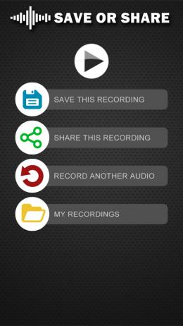 Меню - Изменитель голоса для Android