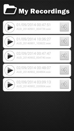 Записи - Изменитель голоса для Android
