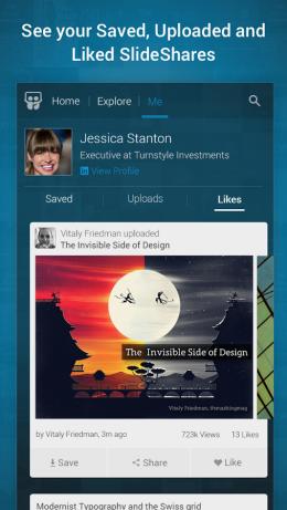 Презентация - SlideShare Presentations для Android
