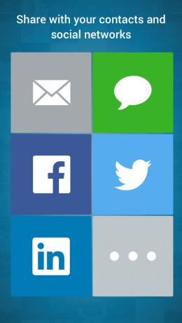 Расшаривание - SlideShare Presentations для Android