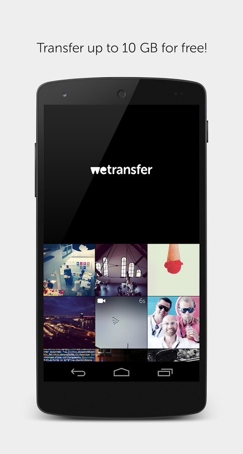 Лого - WeTransfer для Android