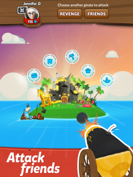 Остров - Pirate Kings для Android