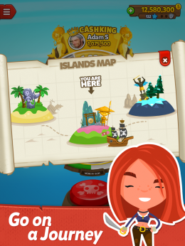 Острова - Pirate Kings для Android