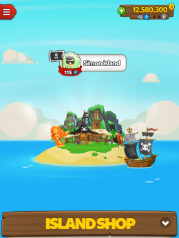 Корабль - Pirate Kings для Android