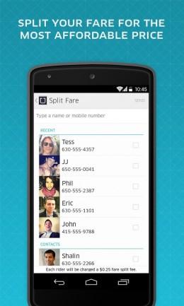 Номера - Uber для Android
