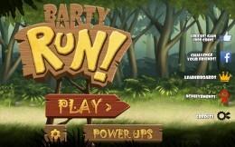Меню - Barty Run для Android